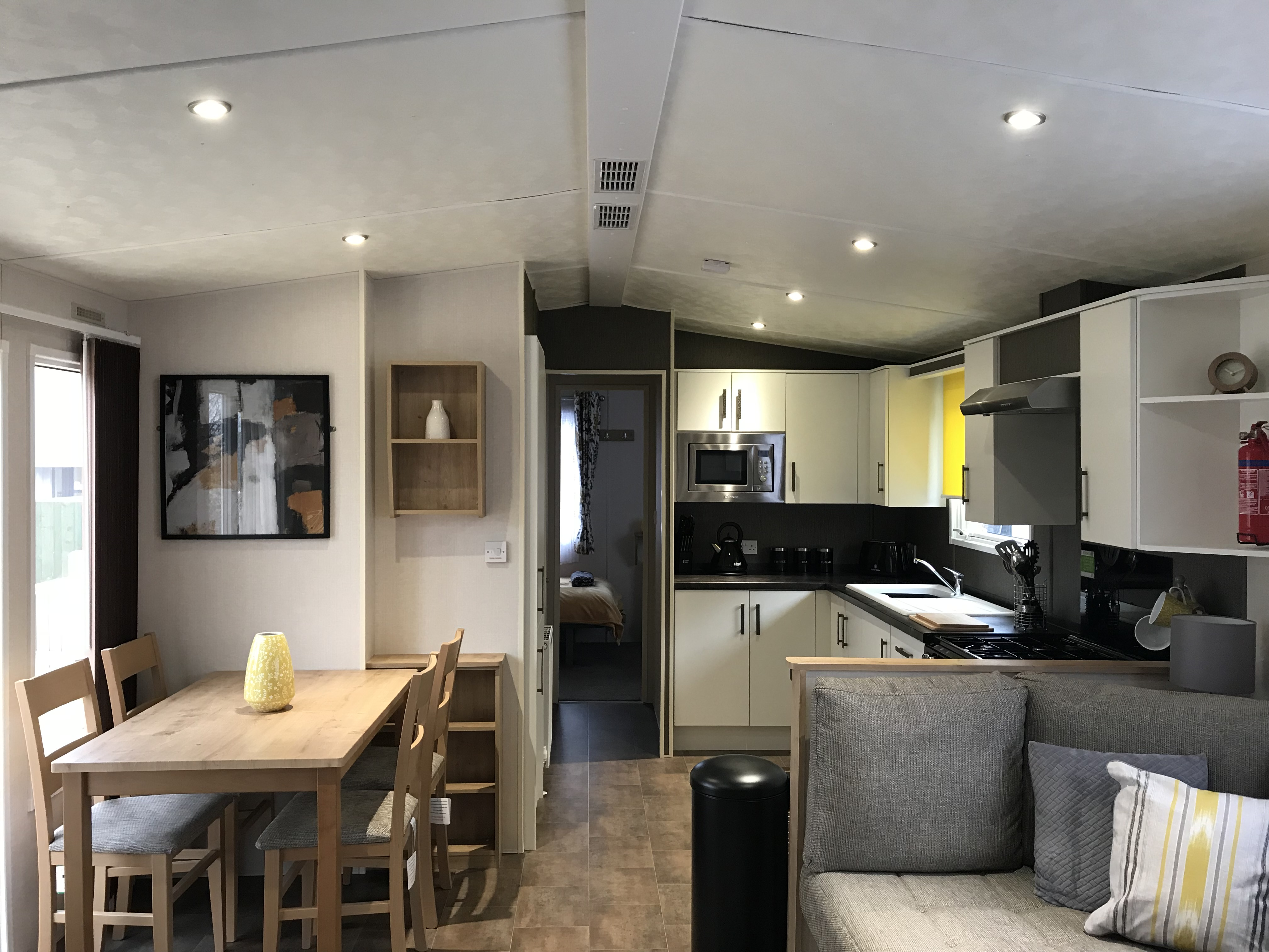 1. Open Plan Living/Dining and Kitchen